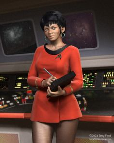 Lt. Uhura by Terry Ford