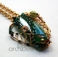 Emerald inspiration pendant  www.archideeonline.it