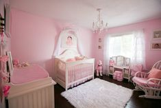 Girly Pink Nursery -