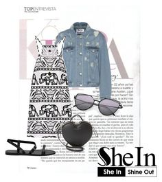 """Sunglasses"" by agnesegundega ❤ liked on Polyvore featuring Acne Studios, Marc Jacobs and GUESS"