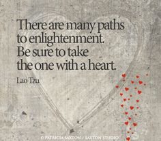 """There are many path"