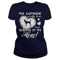 English Coonhound - No longer at my side but always in my heart.