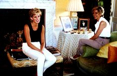 Diana in her apartment at KP.