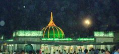 The largest #Muslim Fair in #India, the annual Urs of the Sufi Saint Khwaja Moinuddin Chishti is held at the Dargah of the Saint in Ajmer, Rajasthan
