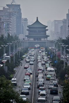 Xi'an is the capital of the Shaanxi Province. One of the oldest cities in China with more than 3,100 years in history.