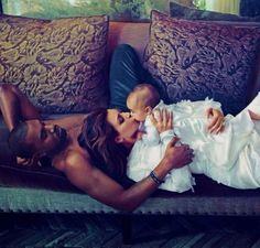 Kim and Kanye for Vogue