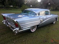 This 1958 Buick Riviera Super is in beautiful condition. Description from car-from-uk.com. I searched for this on bing.com/images