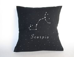Pillow cover Decorative pillow cover Zodiac by ThePaperNeedle