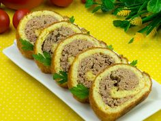 Carne, Romanian Food, Meatloaf, Sushi, Sweets, Cooking, Ethnic Recipes, Succulents, Pork