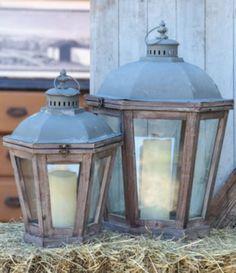 Park Hill French Quarter 2-Piece Vintage Lantern Set #Dillards