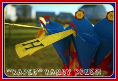 kandy kones for Superhero theme