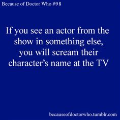 I do this with all my shows. All the time. (CC Drake in Blue Bloods)