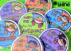 """Love theses, and they're FREE!!! """"All Students Can Shine"""" AWESOME Buttons/ Positive Reinforcement Strategy .....Follow for Free """"too-neat-not-to-keep"""" teaching tools & other fun stuff :)"""