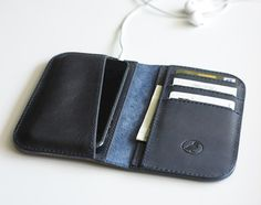 Iphone 5 Wallet Leather Iphone 5 5s Case by zhenique on Etsy