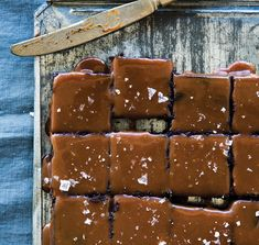 Salt & Pepper Caramel Brownies