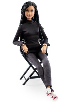Ava Duvernay Barbie doll, from the Sheroes collection