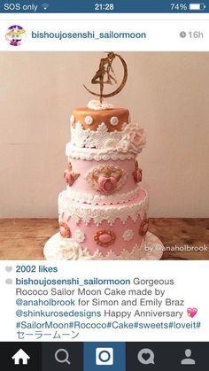Sailor Moon cake!