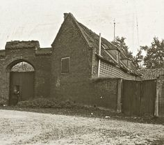 Alone in the tiltyard at Eltham Palace, c. 1910