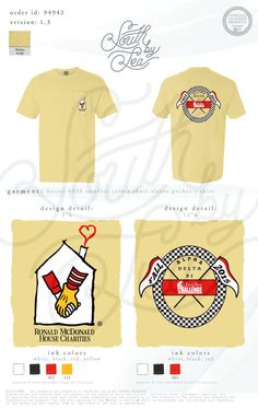 RMHC Philanthropy Shirt