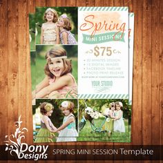 BUY 1 GET 1 FREE Spring Mini Session Outdoor Mini by DonyDesigns, $5.00