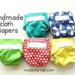 Sewing for baby: Cloth Diapers