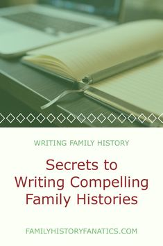 how to write a family history paper