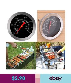 Kitchen Tools & Gadgets Stainless Steel Probe Thermometer Gauge For Bbq Meat Food Kitchen Oven Cooking & Garden Barbecue Smoker, Bbq Meat, Bbq Grill, Grilling, Meat Food, Cooking On The Grill, Oven Cooking, Cooking Tools, Cooking Utensils