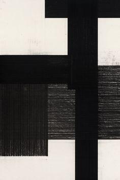 Arjan Janssen drawing, charcoal 2010