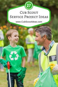 27 of the Most Helpful Cub Scout Service Project Ideas via @CubIdeas