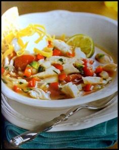 mex chicken lime soup2