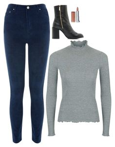"""""""Selena Gomez Inspired Outfit"""" by daniellakresovic ❤ liked on Polyvore featuring Warehouse and Maybelline"""