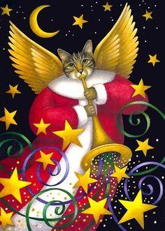 Jazzy Angel Cat ~*~ Stephanie Stouffer