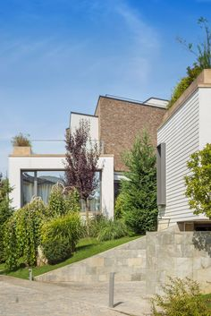 Romanian Evening on the Hill designed by Fabrica de arhitectura to provide owners with a private haven in an urban setting Indoor Swimming Pools, Urban Setting, Closer To Nature, Building A House, Brick, Home And Family, New Homes, House Design, Architecture
