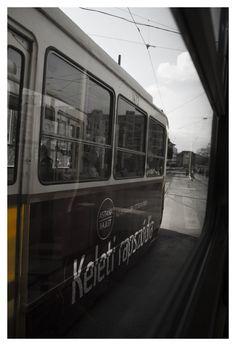 No.47 tram in Budapest