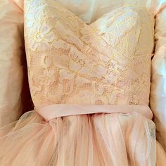 The Bridesmaid and Maid of Honor Dress. Juliette in the color Cameo Pink by BHLDN