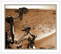 Curiosity Mars self portrait Dec. 2012
