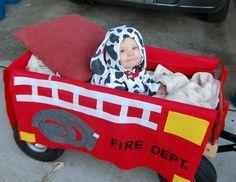 Firetruck, dog, and Firefighter!
