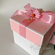 18K13/KRABIČKA/svatební na peníze sv.růžová IHNED Decorative Boxes, Container, Self, Decorative Storage Boxes