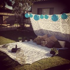 sunday backyard picnic date with javier!