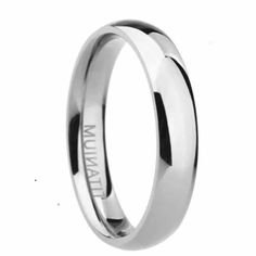Get Your Silver Titanium Mens Rings, Polished Minimalist Mens Rings. Buy Titanium Rings and - Carpets Mag Titanium Rings For Men, Mens Gold Rings, Tungsten Mens Rings, Tungsten Wedding Rings, Mens Ring Designs, Engraved Rings, Fashion Rings, Fashion Jewelry, Unique Rings
