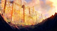Abandoned Fortress of Alphander by Antares69.deviantart.com on @deviantART