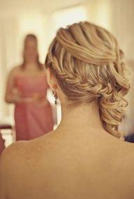 Side curls with Braid