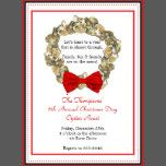 Look no further for the perfect Coastal Christmas Party Invitation or Card.  Whether you're actually hosting an oyster roast or just need a uniquely coastal card, you are in luck!  Add a picture to the wreath for a classic and rustic photo card.  We have used this design for family parties, photocards, business greetings and holiday soirees!  For custom orders contact us at holler@thefineprintstudio.com.  Follow The Fine Print Studio on facebook and Pinterest and give your input on which of…