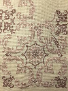 Embroidery Art, Cross Stitch Embroidery, Embroidery Patterns, Ribbon Embroidery, Cross Stitch Designs, Cross Stitch Patterns, Palestinian Embroidery, Cross Stitching, Textile Art