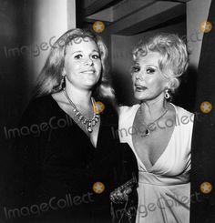 Francesca Hilton & her Aunt Eva Gabor