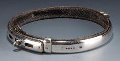 1881 OnlineGalleries.com -  Thornhills Silver Dog' Collar.