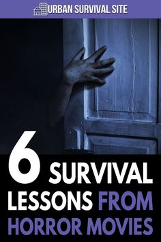 If you want to learn survival tactics and strategies from movies, it might be a good idea to watch horror movies.