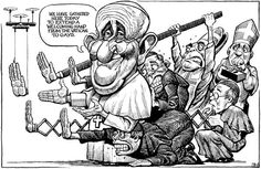 The EconomistVerified account ‏@TheEconomist Our cartoonist, KAL, has won the award for cartoon of the year in Europe with this cartoon http://econ.st/1zSNmFX