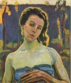 Ferdinand Hodle r- Portrait of a Woman 1907.