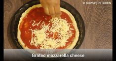 LOW CARB PIZZA CRUST RECIPE WITH ALMOND FLOUR with detailed photo and video recipe – This Low Carb Pizza Crust Recipe is a keto friendly dough made with cream cheese, and almond flour. It turns out to be a surprisingly delicious, keto friendly recipe that is easy adapt to flavoring, and very easy to make! … Fat Head Pizza Crust, Cheese Crust Pizza, Almond Bread, Almond Flour Recipes, Regular Pizza, Low Carb Pizza, Crust Recipe, Food Videos, Baked Goods